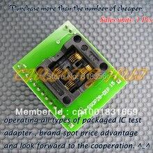 Dual work stations SSOP8-DIP8 CNV-SSOP8-DIP adapter TSSOP8 IC Test the Socket / Programmer foot spacing 0.65mm