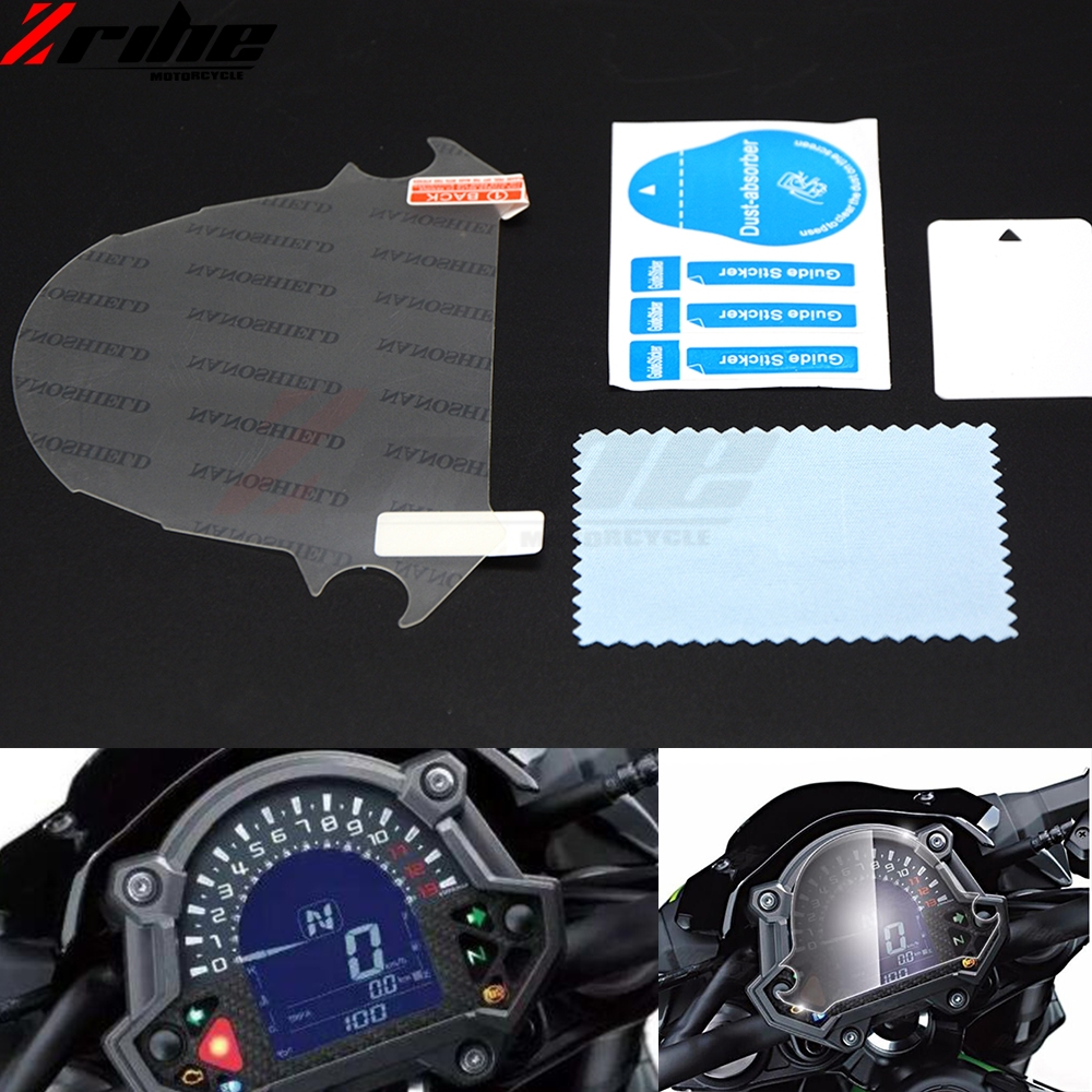 motorcycle for Kawasaki Z900 Z650 2017 Film Screen Dashboard Instrument Cluster Scratch Protection Sticker