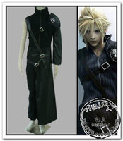 Free Shipping Anime Final Fantasy Cosplay Final Fantasy VII Cloud Strife Cosplay Costume Wholesale Costume Full Set