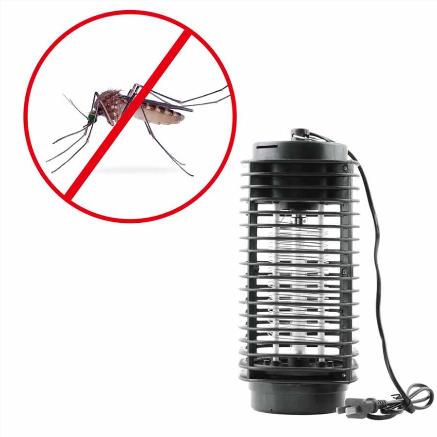 LMID Mosquito Killer Lamps electric mosquito killer lamp les uv light fly insect bug mosquito lamp home kitchen insect trap lamp ledgle 3w mosquito repellent lamp effective physical insect killer mosquito trap and killer black