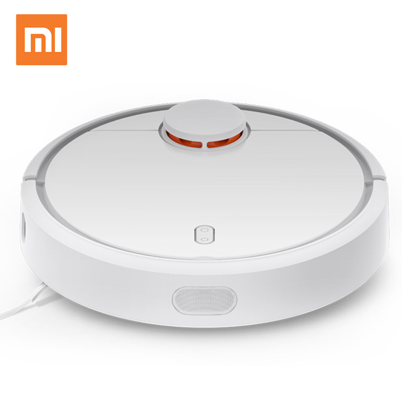 XIAOMI Mi Robot Vacuum Cleaner Robotic Smart Planned App Remote Control Automatic Sweeping Dust Sterilize Self Charge original xiaomi mi robot vacuum cleaner for home automatic sweeping dust sterilize smart planned mobile app remote control