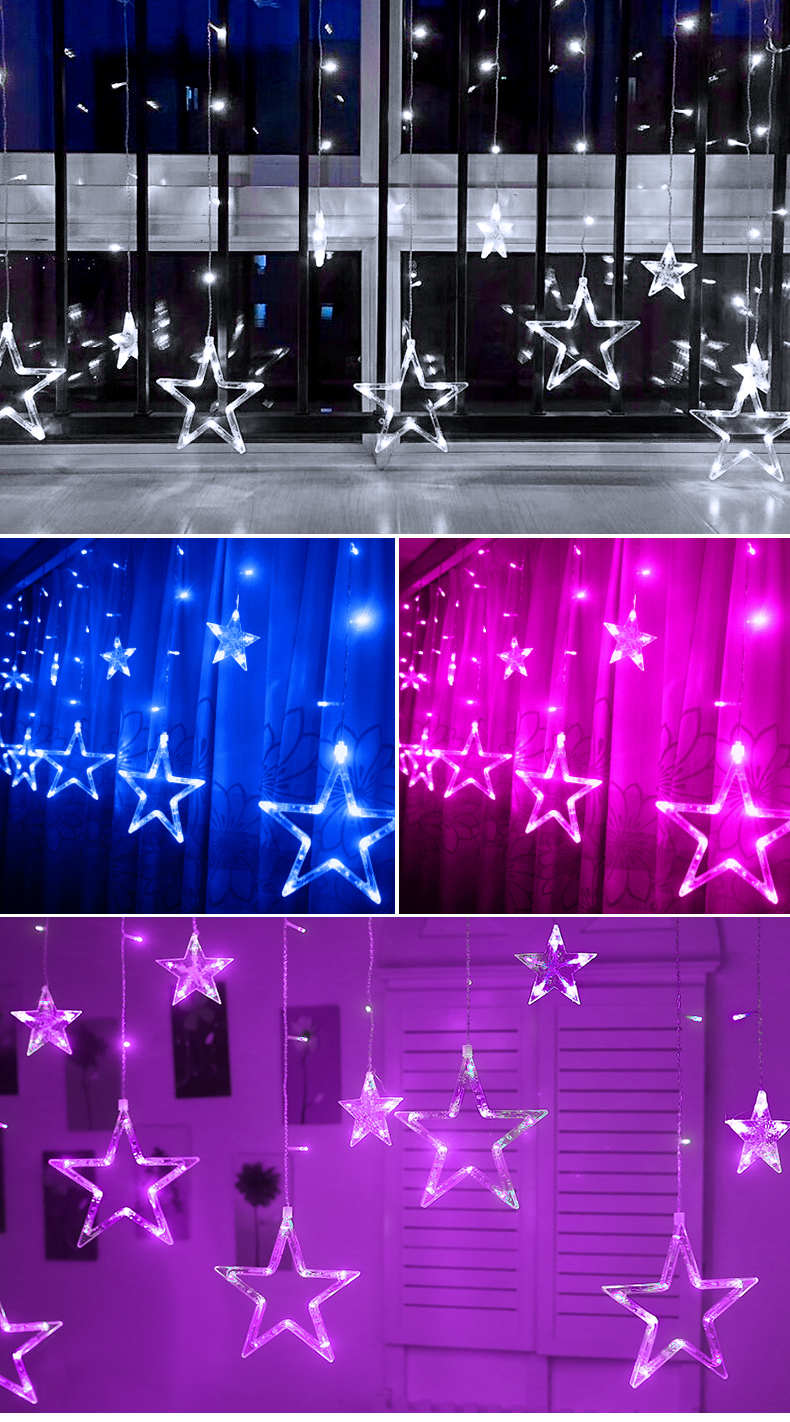 HTB1fF0tXjzuK1Rjy0Fpq6yEpFXaU - Christmas Decorations for Home Fairy Lights Outdoor Indoor Led String light Party Weeding Adornos Navidad Natal Ornaments Decor