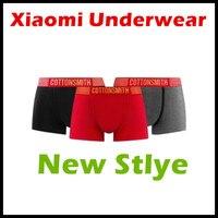 Xiaomi Ecological Chain Brand Cottonsmith Dry Women Men Underwear Underpants 3PC Per Set Imported US Cotton