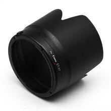 ET 87 70 200 milímetros lens hood for Canon EF f/2.8L É III USM snap on do suporte pode ser instalado no sentido inverso preto branco