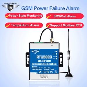 Image 2 - GSM Báo Động Điều Khiển Nhiệt Độ & Độ Ẩm Hệ Thống Giám Sát Cho Nhà Kính Nông Trại Mất Điện Màn Hình Dữ Liệu Logger