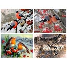 Diamond Painting  embroidery 5d diy full square animals bird - diamond mosaic daimond painting paint