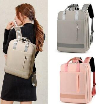 2019 nuevo bolso antirrobo mochila de viaje para mujeres de gran capacidad de negocios USB carga para hombres mochila de ordenador portátil Colegio escolar bolsa