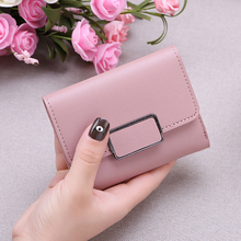 Women Small Simple PU Leather Mini Short Wallets Card Holder bags Coin Purses Vintage Wallets for Lady Clutch Female phone bag new brand mini clutch bag lady purse wallet women retro vintage deer small coin purses wallets hot card holders bags gift