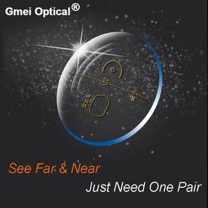 Image 4 - 1.56 Super Tough Digital Free Form Progressive No Line Multi Focal Prescription Customized Optical Lenses With AR Coating  2 Pcs