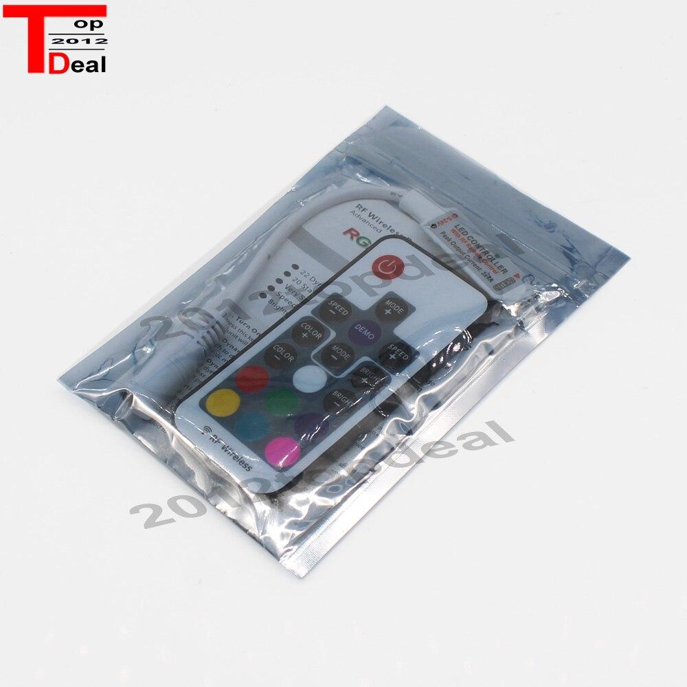 1 Stücke Dc5-24v Mini 17 Schlüssel Rf Wireless Fernbedienung Für 3528 5050 Rgb Led Streifen Licht Aromatischer Geschmack Licht & Beleuchtung