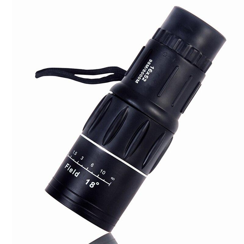 TONGBING 16*52 enfoque dual de viaje de caza Zoom óptico lente binoculares de lentes Hnight visión de los niños telescopio