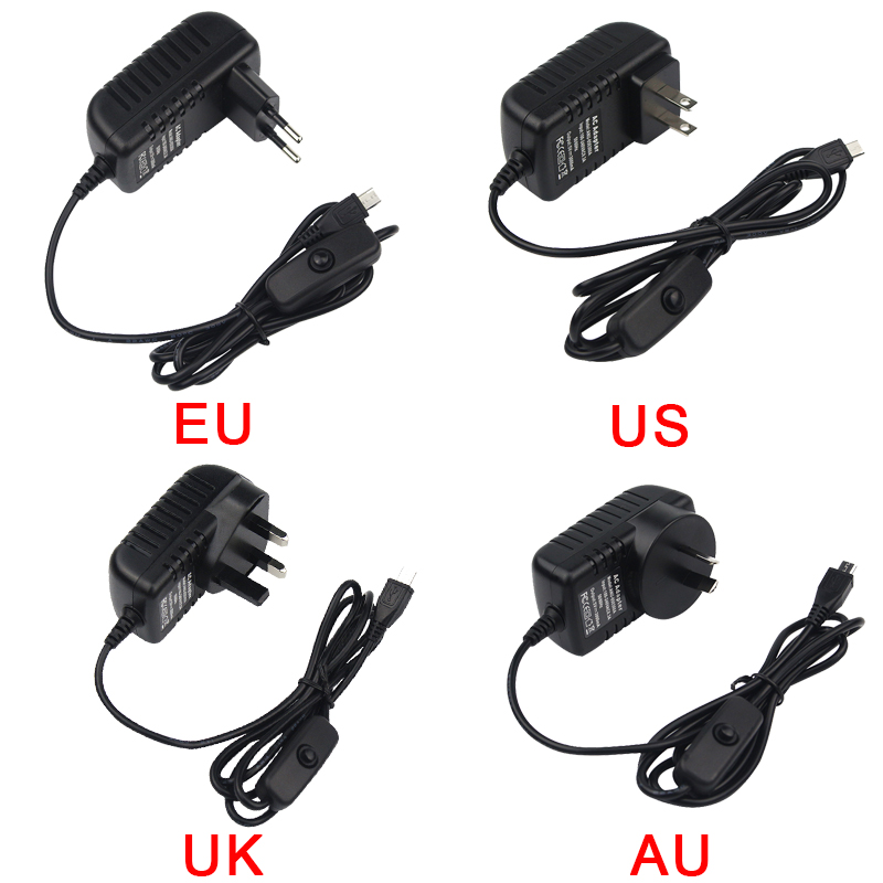 Original Nuevo Reino Unido Raspberry Pi 3 Modelo B, modelo B + Kit + + 16 32G tarjeta SD + 3A adaptador de corriente + Cable HDMI + disipador de calor RPI 3 B Plus - 5