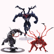 3 styles Revoltech Series Venom Carnage Amazing SpiderMan PVC Action Figure Collectible Model Kids Toy Christmas Gift the amazing spider man venom carnage revoltech series no 008 action figure toy brinquedos figurals collection model