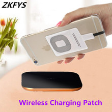 Qi Standard Wireless Charging Receiver For Samsung S9 S8 Micro USB Pad Coil Type-C Wireless Charger Receiving For iPhone X 8 7 6 цена 2017