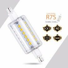 R7S Tubo Led Lamp 5W 10W 12W 15W Lampada 220V 110V Corn Bulb 78mm 118mm 135mm 189mm Indoor Home Light luces led decoracion
