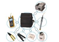 JW5004 FTTx ToolKits 8 In 1 Optical Fiber Tool Kit With Fiber Cleaver And Strippers JW3208 Optical Power Meter 1mW Fiber VFL