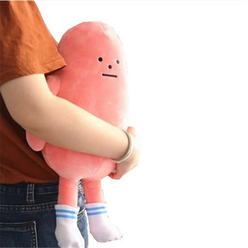 2018 New Coming Anime Role 1Pc 45Cm Sticky Monster Lab 3 Colors For Choice Soft Stuffed Doll Men Kids Birthday Gift Collection