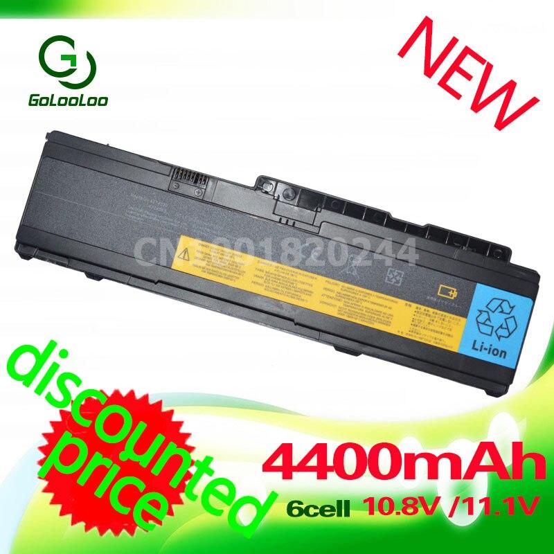 Golooloo 3600 MaH batterie d'ordinateur portable pour Lenovo IBM ThinkPad X300 X301 Série 43R1965 ASM 42T4519 42T4523 FRU 42T4518 42T4522