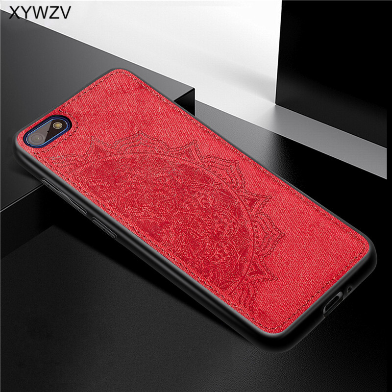Image 2 - Huawei Y5 Prime 2018 Case Shockproof Soft Silicone Luxury Cloth Texture Phone Case For Huawei Y5 Prime 2018 Cover Huawei Y5 2018-in Fitted Cases from Cellphones & Telecommunications