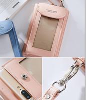 Shoulder Belt Touch Screen Mobile Phone PU Case For Meizu MX6 M3s M3 Note RO 5