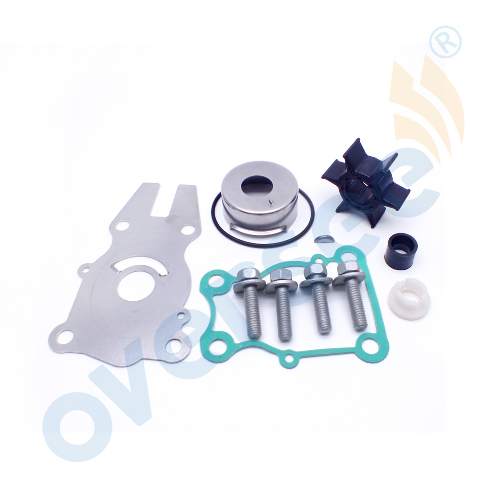 Boat <font><b>Motor</b></font> 63D-W0078 WATER PUMP KIT For YAMAHA <font><b>40</b></font> 50 60 <font><b>HP</b></font> 2 & 4 STROKE IMPELLER / WATER PUMP KIT 63D-W0078-00 image