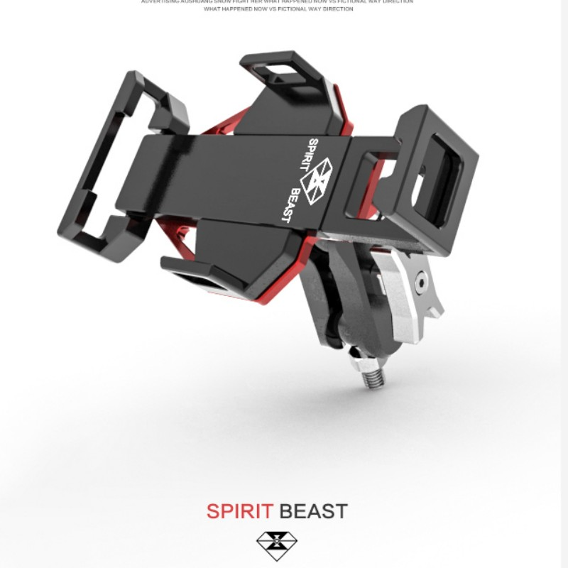 Spirit Beast motorcycle modified phone holder AL top quality very cool styling NOT THE cheap thing цена 2017