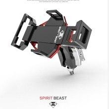 Spirit Beast zmodyfikowany motocyklowy uchwyt na telefon AL najwyższej jakości bardzo fajna stylizacja nie jest tania