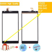 For Nokia Lumia 1520 N1520 RM-937 RM-940 Touch Screen Touch Panel Sensor Digitizer Front Glass Outer Lens Touchscreen NO LCD for nokia lumia 1520 n1520 rm 937 rm 940 touch screen touch panel sensor digitizer front glass outer lens touchscreen no lcd