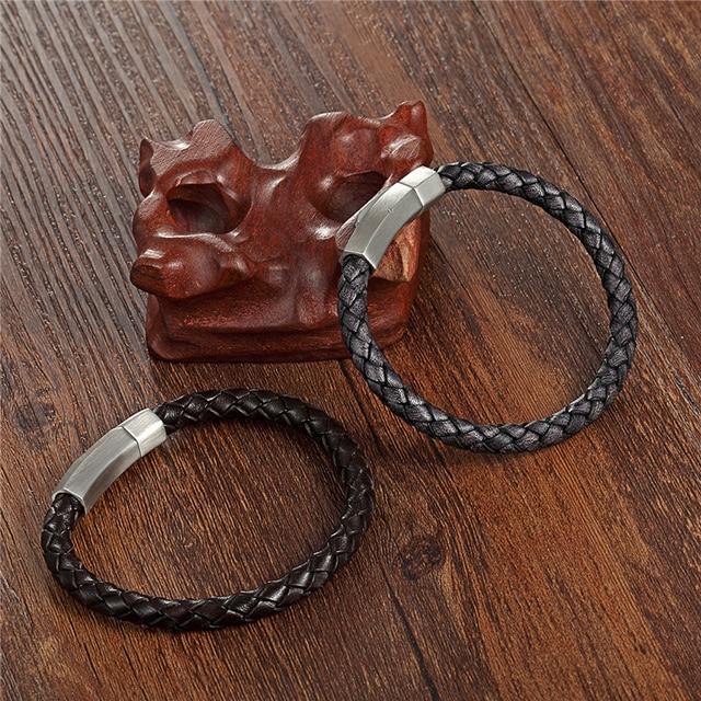 Фото модный браслет из нержавеющей стали в стиле ретро мужские браслеты цена