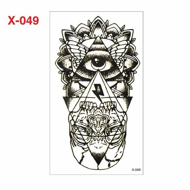 Hot Fashion 3D Tattoo Sticker Man And Woman Tattoo Sticker Robot Arm Gel Water Resistant Christmas Body Ornament