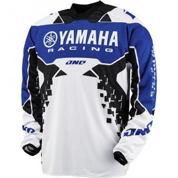 Цена за Новый YAMAHA 2 цвет гонки на мотоциклах футболка гора горные велоспорт велосипед moto мотоцикл MTB беговых езда джерси
