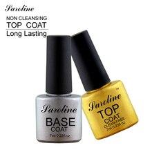 Saroline Soak Off UV LED Multi Use Base Coat top coat Gel Polish Nail Primer Gel For UV Gel Tips Nail Art Tool Varnish