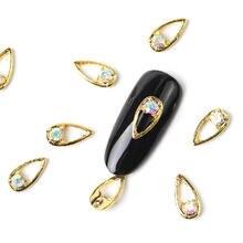 Новинка 2019 10 штук Кристальные яркие жемчужные украшения для