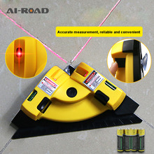Wall Tile 90 Degree Tiling Artifact Leveling Machine Laser Angle Meter Right Grounding Instrument