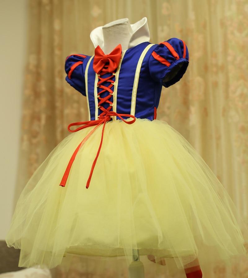 Bebé Niña Vestidos De Bola Blancanieves Princesa Vestidos