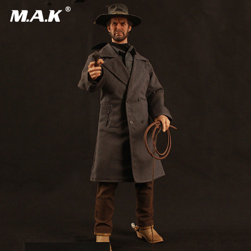 1:6 Scale Collection Full Set Action Figure The Cowboy Deputy Town Marshal Model Toys full set action figure 1 6 rm020 the cowboy drifter clint eastwood action figure toy for collection