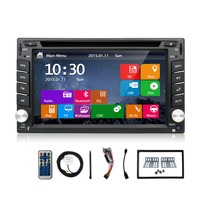Double 2din Car Dvd Autoradio GPS Navigation 2 Din Car DVD Player With Bluetooth Stereo Video
