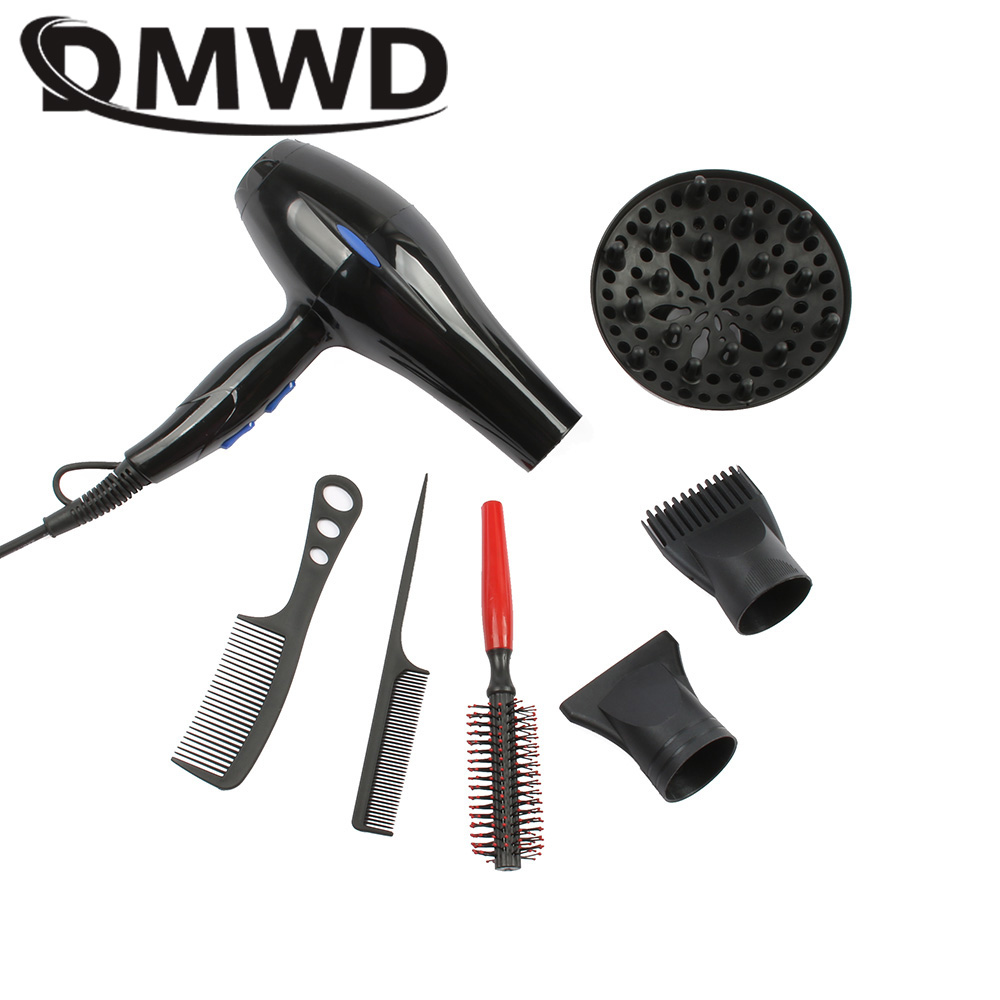DMWD 3200W Hot And Cold Wind Hair Dryer AC motor Blow Dryer electric Hairdryers professional barber salons Styling Tools EU US 3200w hot and cold wind hair dryer ac motor blow dryer electric hairdryers professional barber salons styling tools eu us plug