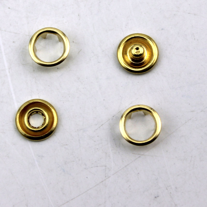 RAYNAG 90 Set Plastic Snap Fasteners Buttons Invisible Sewing On Snap Buttons#46