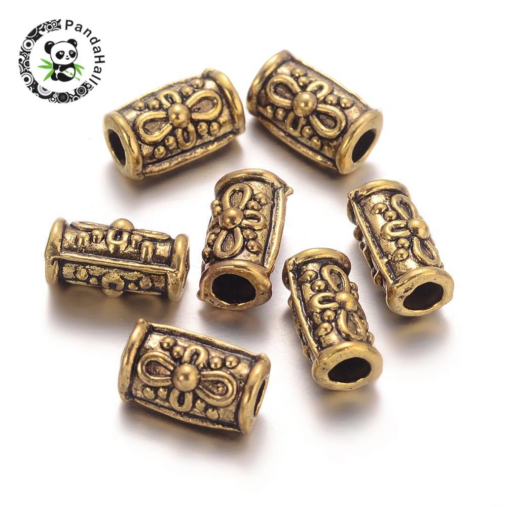 30Pc Mixed Caution Tibetan Silver connecteur Charms European Bail Beads Fit Bracelet