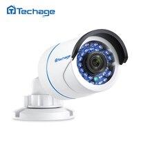 Techage 720 P 960 P 1080 P 48 V POE IP Камера 2MP открытый Водонепроницаемый ИК ночного P2P onvif-видео Видеонаблюдения POE камера видеонаблюдения
