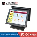 EPOS System 15 Inch Dual screen pos system Cashier Register All In One Pos For Retail Shop