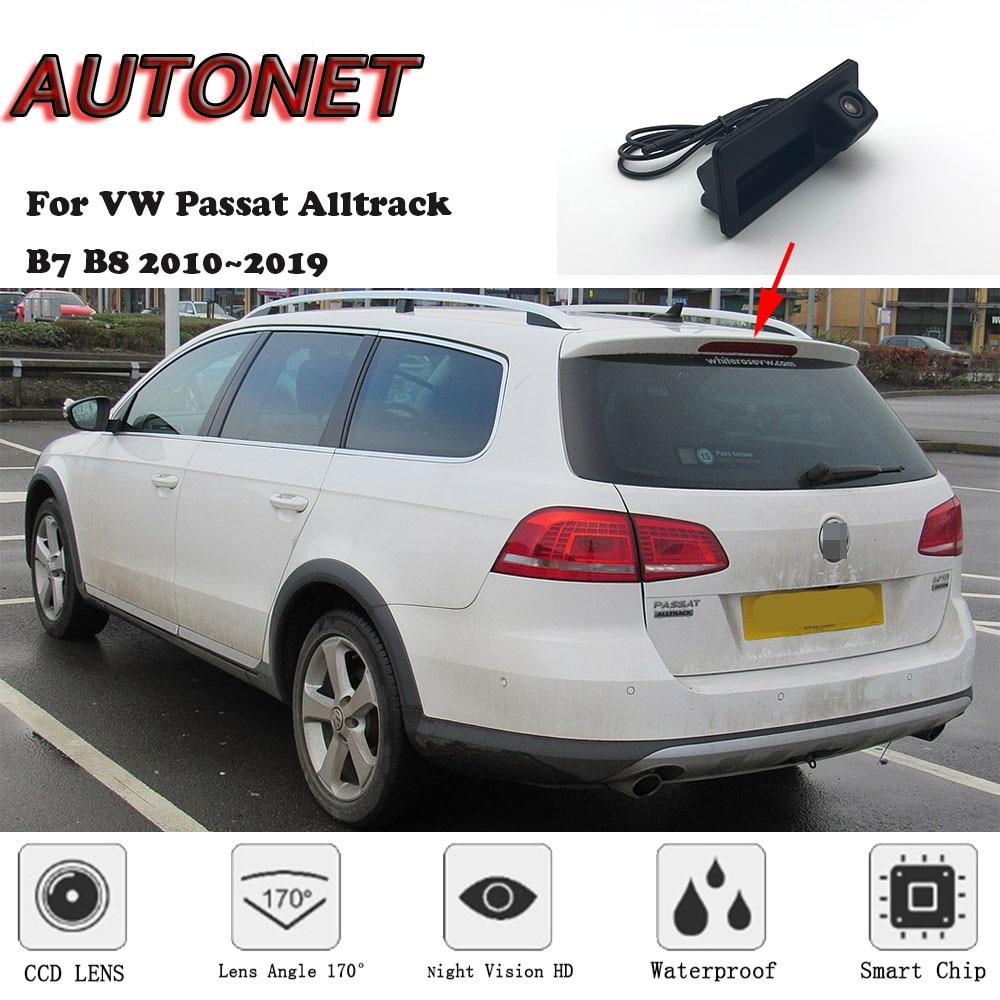 AUTONET CAR Trunk Handle Camera For Volkswagen VW Passat Alltrack B7 B8 2010~2019 Night Visioin Backup Rear View camera