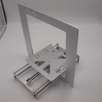 A Funssor Update frame kit for Prusa i3 aluminum alloy Anodized silver color