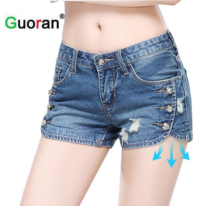 Aliexpresscom  Buy Guoran Sexy Short Jeans Pant For -7843