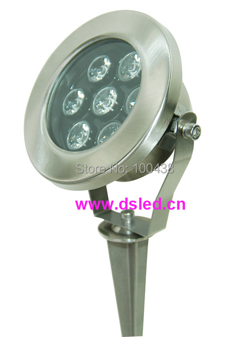 Stainless steel, high power,good quality 7W LED outdoor light with spike,LED garden light,110VAC / 220VAC,DS-10-41A-7WStainless steel, high power,good quality 7W LED outdoor light with spike,LED garden light,110VAC / 220VAC,DS-10-41A-7W