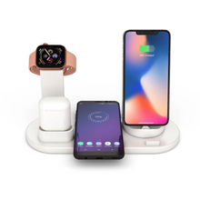 3 in 1 Charging Dock Qi Wireless Charger Holder for Apple Watch Series 4/3/2/1 10W Quick Stand For iPhone X XS XR MAX 7