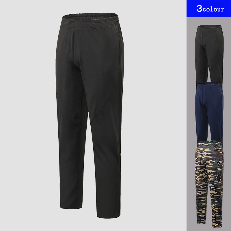 2019 Quality Camo sport pants men Running Loose Straight Training Pants Gym Trousers Soccer Jogging sweatpants in Running Pants from Sports Entertainment