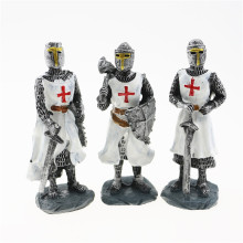 10cm Height,Middle Ages Knights Templar 3D Stereoscopic Resin Decoration,Malta Souvenirs
