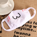 Hot! White Anime Emoticon Mouth-Muffle Kaomoji Anti-Dust Cute Kawaii Lovely Face Mask
